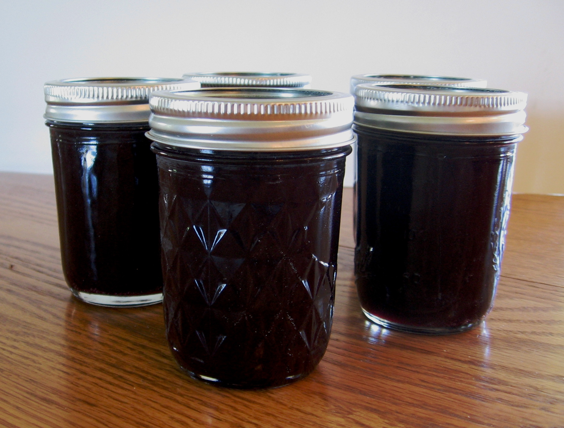 Homemade Concord Grape Jam