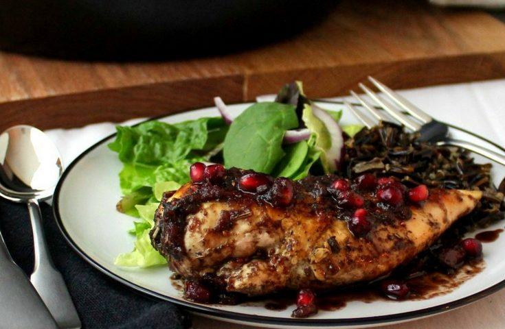 Pomegranate-Cranberry Chicken