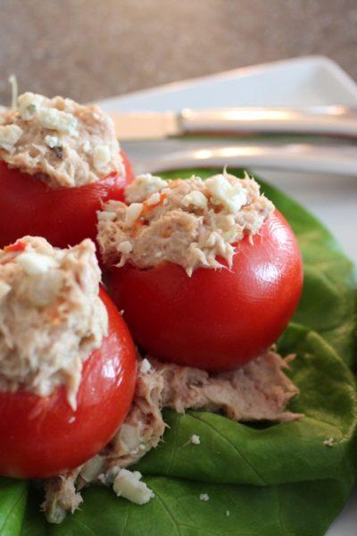 Tuna Salad Redo: A Healthy Lunch Idea