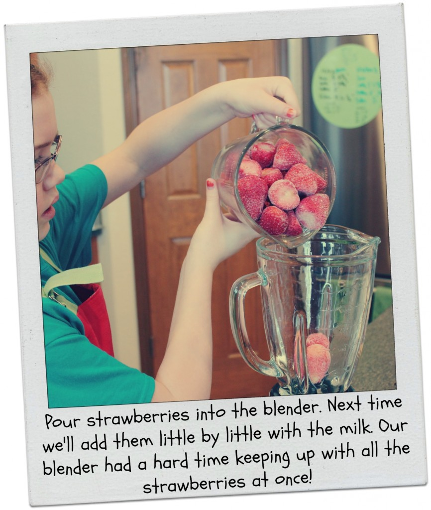 Cooking with Kids - Fruit Smoothies 2
