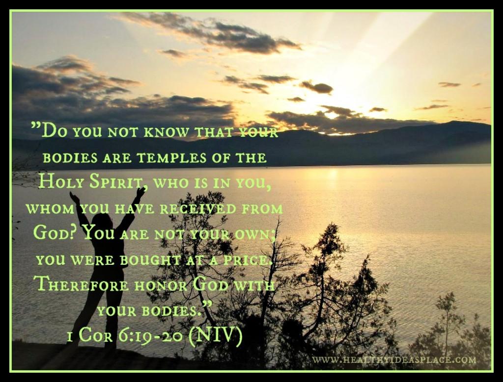 1 Cor 6 19 thru 20
