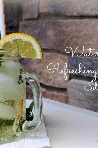 Water – A Refreshing, Healthy Idea