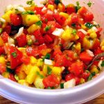 Summertime Salsa – Tomatoes and Mango