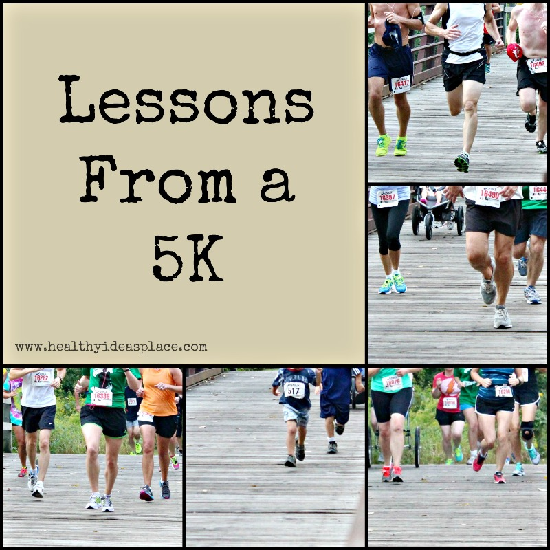Lessons From a 5K
