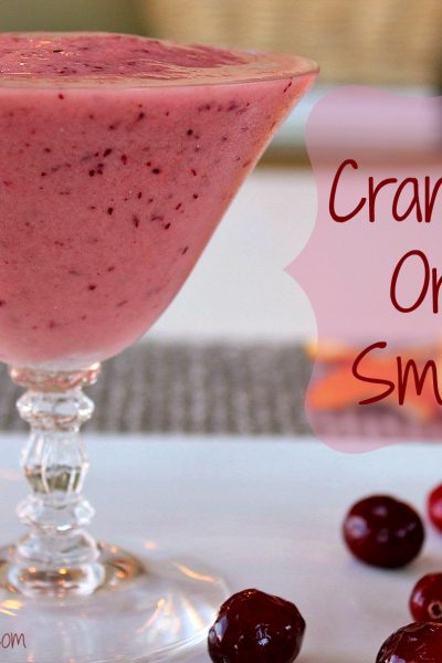 Cranberry-Orange Fruit Smoothies
