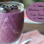 Blueberry-Banana Smoothies