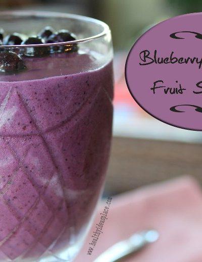 Blueberry-Banana Smoothies