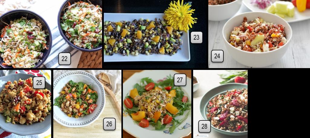 Favorite Spring and Summer Salads