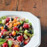 Triple Berry and Quinoa Salad