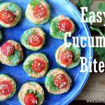 Easy Cucumber Bites