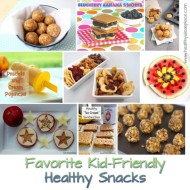 Favorite Kid-Friendly Healthy Snacks