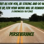 Mid-Week Encouragement: Perseverance