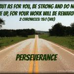 Mid-Week Encouragement: Perseverance