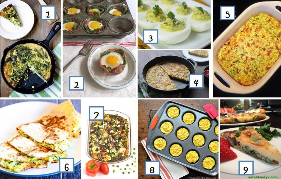 34 Breakfast and Brunch Ideas