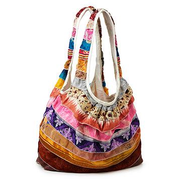 Uncommon Goods Sari Bag