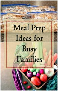 Meal Prep Ideas for Busy Families