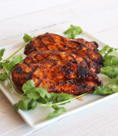 Easy Southwest Grilled Chicken