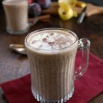 Spiced Apple and Plum Smoothie - apples, plums and cinnamon make a smoothie with the warm flavors of autumn