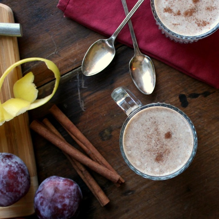Spiced Apple and Plum Smoothie