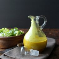Apple Cider Turmeric Vinaigrette