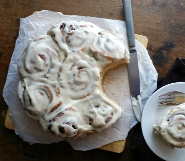 These Christmas Morning Cinnamon Rolls are dairy-free, tender, and filled with the warm spice of cinnamon - perfect for Christmas morning.