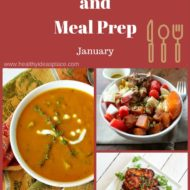 Dinner Menu and Meal Prep for January
