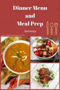 Dinner menu and meal prep - Plan and prep meals in advance to save time, save money, and ensure nourishing, healthy meals for your family.