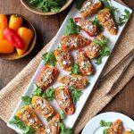 Southwest Tuna Stuffed Mini Peppers