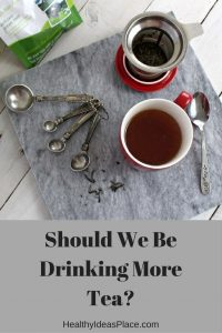 Tea has long been purported to offer a number of health benefits for regular tea drinkers. So should we be drinking more tea? #sponsored #tea