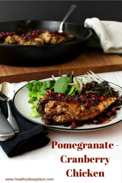 Pomegranate-Cranberry Chicken