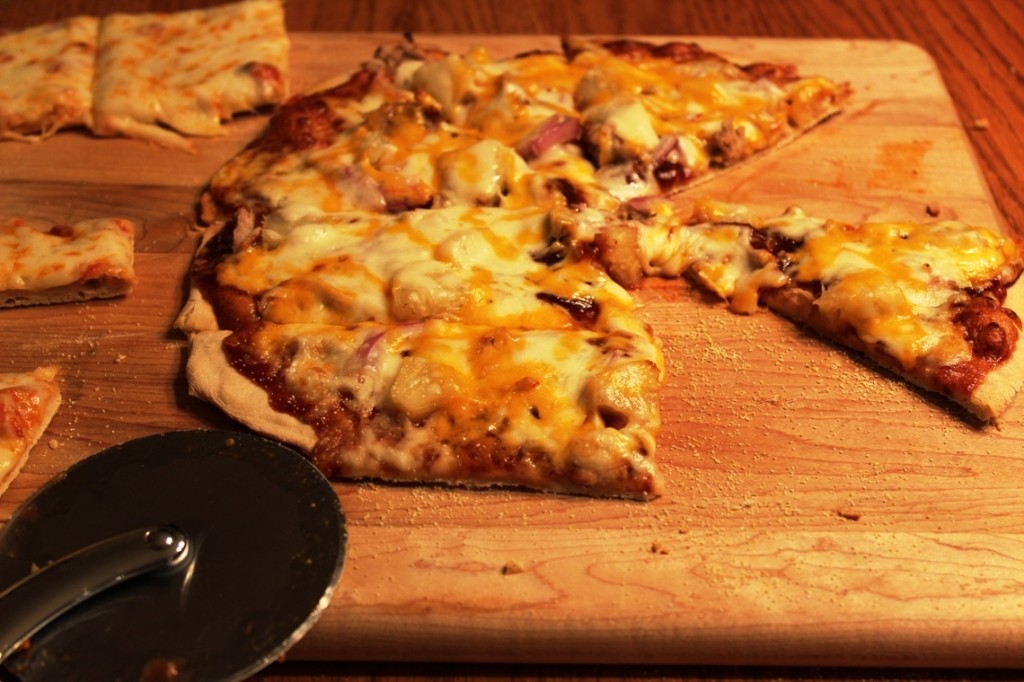 Barbecue Pulled pork Pizza