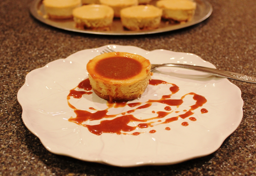Salted Caramel Cheesecake (Cooking Light)