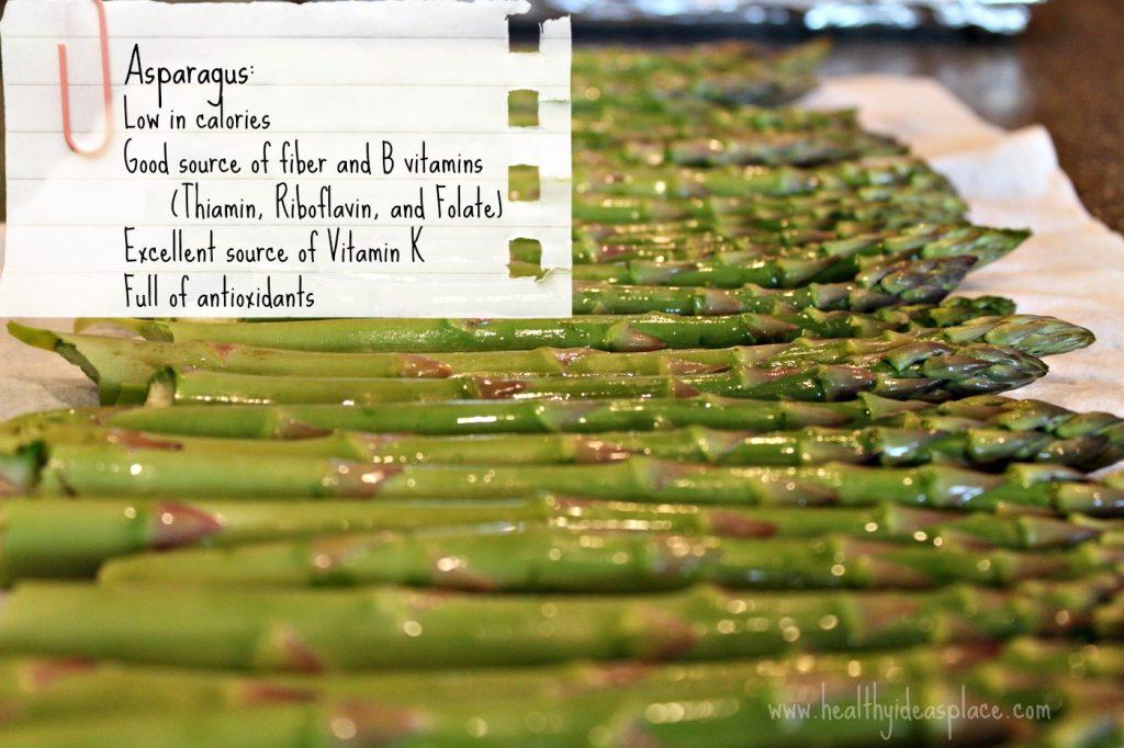Asparagus - nutritional gem