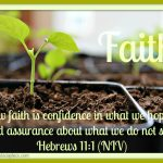 Mid-Week Encouragement: Faith