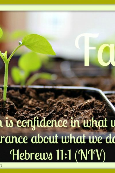 Mid-Week Encouragement: Faith
