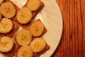 bananas and grahams