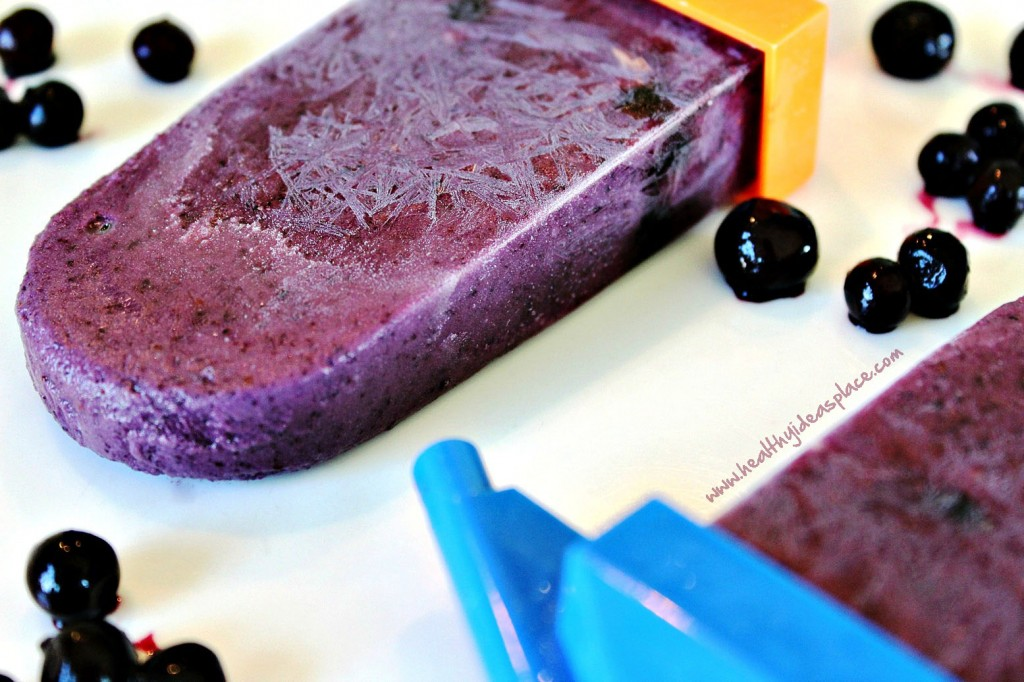 Healthy Smoothie Popsicles