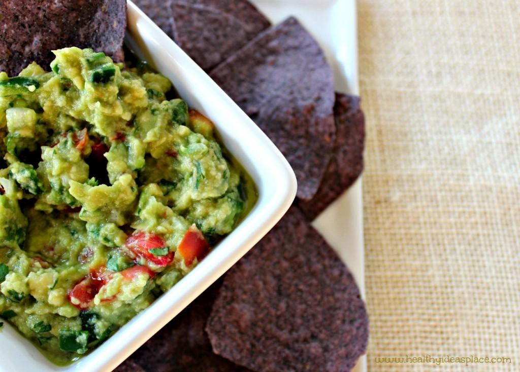 There's nothing like fresh, homemade guacamole - quick and easy to make, and filled with healthy fats and lots of flavor.