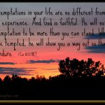 Mid-Week Encouragement: Temptation