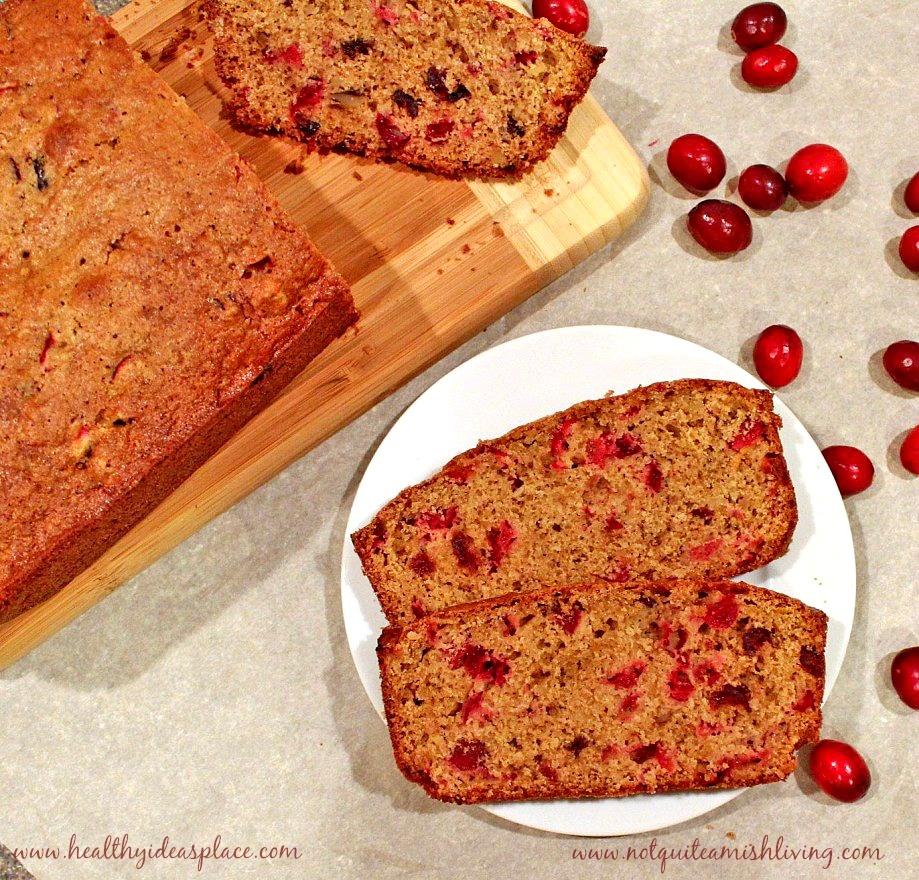 Cranberry Bread - A Holiday Favorite