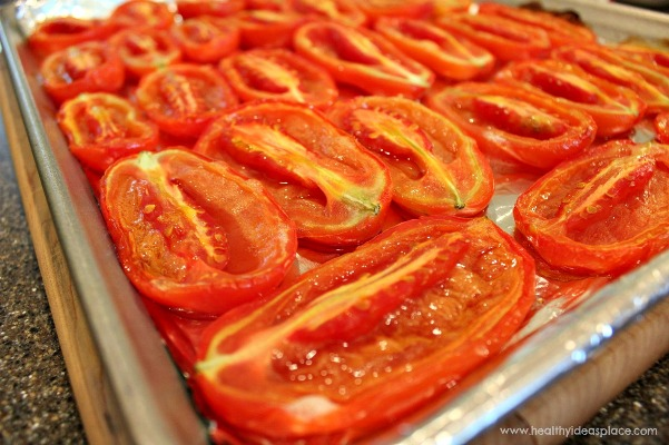 Roasted Tomatoes for Sauce