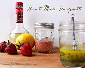 How to Make Vinaigrette