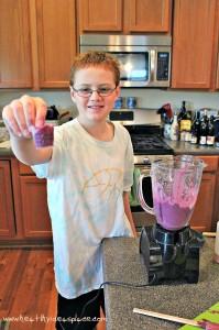 Strawberry Blueberry Smoothies