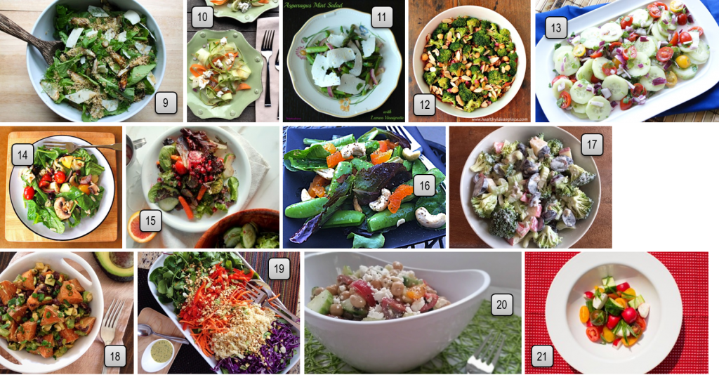 Favorite Spring and Summer Salads