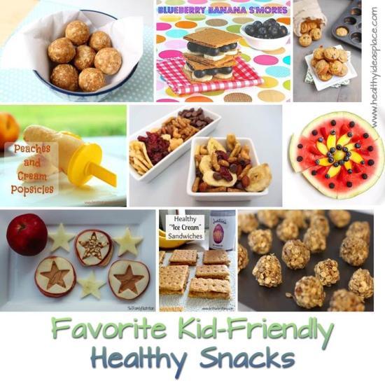 Favorite Kid Friendly Healthy Snacks