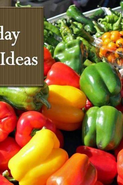 Friday Fresh Ideas