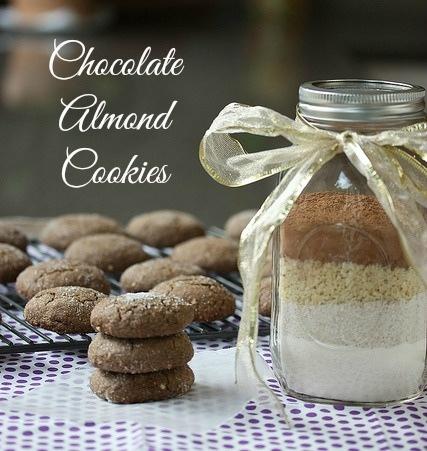 Chocolate Almond cookie mix