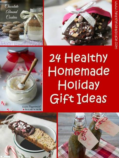 healthy homemade holiday gift ideas