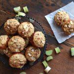 Buttermilk Rhubarb Muffins