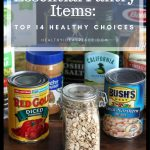 Essential Pantry Items: Top 14 Healthy Choices